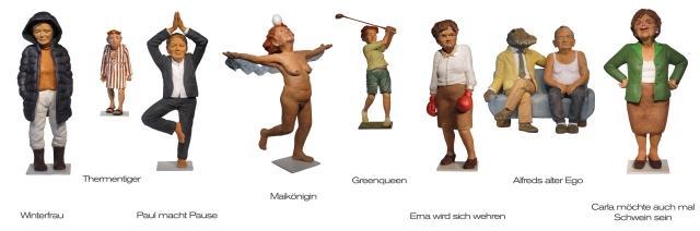 Angela Eberhard - Figurenwerk